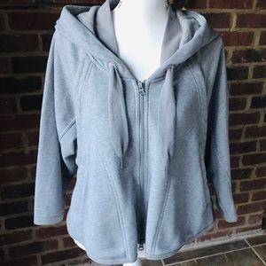 ADIDAS Stella McCartney Swing Hooded Jacket Sz XS